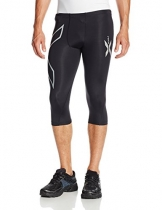 2XU Herren Hose Compression 3/4 Tights, Black, L, MA1942b -