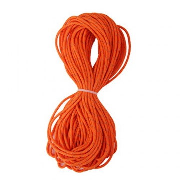 3mm orange reflektierende Zelt Guy Linie Rope Camping Schnur Paracord 20M - 3