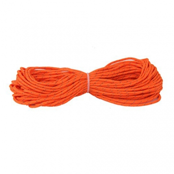 3mm orange reflektierende Zelt Guy Linie Rope Camping Schnur Paracord 20M - 4