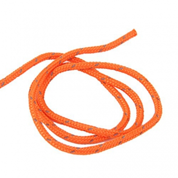 3mm orange reflektierende Zelt Guy Linie Rope Camping Schnur Paracord 20M - 5