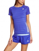 adidas Damen kurzarm Shirt Supernova, Night Flash S15, M, S16206 -