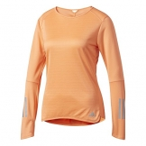 adidas Damen Response Langarm Shirt, Easy Orange, M -