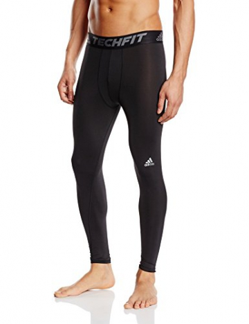 adidas Herren Hose TF Base Tights, schwarz/Grau, M, 4056561967142 - 1