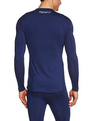 adidas Herren Shirt Techfit Base Long Sleeve Funktionsunterwäsch, Blau, XS, G90141 - 2
