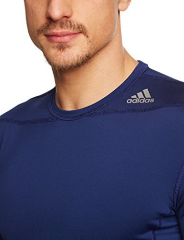adidas Herren Shirt Techfit Base Long Sleeve Funktionsunterwäsch, Blau, XS, G90141 - 3