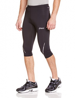 Asics Herren Lauf Leggings Knielang, Performance Black, S, 110416 - 1