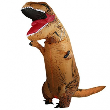 Aufblasbare Blowup Dinosaurier Kostüm Party Halloween T-rex ...