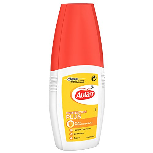 Autan 601283 Protection Plus, Pumpspray, 100 ml - 2
