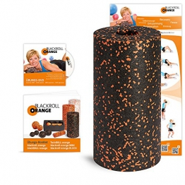Blackroll Orange (Das Original) - DIE Selbstmassagerolle inkl. Übungs-DVD, Übungsposter & Booklet - 1