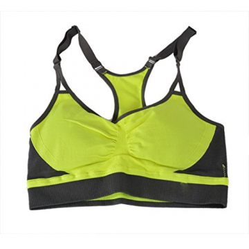 Encounter Komfort Damen Starker Halt Gepolsterter Push up Ohne B¨¹gel Sport BH Bustier Stretch Sports Unsicht Bra Top F¨¹r Yoga Fitness-Training -