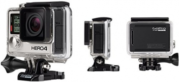 GoPro HERO4 Black Adventure Actionkamera (12 Megapixel, 41,0 mm x 59,0 mm x 29,6 mm) - 5