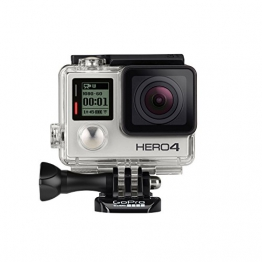 GoPro HERO4 Silver Adventure Actionkamera (12 Megapixel, 41,0 mm x 59,0 mm x 29,6 mm) - 1