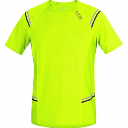Gore Running Wear Herren Kurzarm mythos 6 Shirt, Neon Yellow, S, SMYTHM080003 - 1