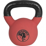 Gorilla Sports Kettlebell Red Rubber, 12kg, 10000491;3 - 1
