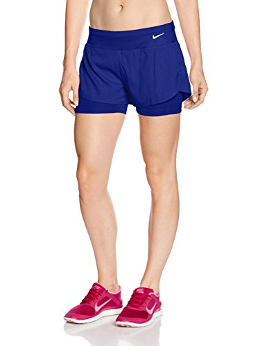 watch 84be9 8de4b Nike Damen 3 Zoll Rival Jacquard 2-In-1 Shorts Oberbekleidung - Mudder Shop  DE