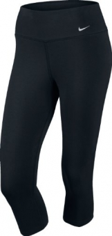 Nike Damen Leggings Legend 2.0, black/white, XS, 552141-010 -
