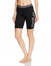 Odlo Damen Tights shorts SLIQ 2.0, black/silver, L, 349031 - 1