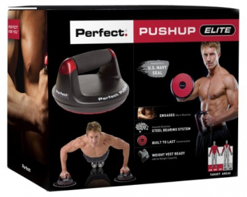 Perfect Fitness Erwachsene Liegestützgriffe Push Up V2, Black, 31015EU - 5