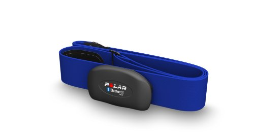 POLAR Sportuhr Herzfrequenz-Sensoren-Set H7 Blue Bluetooth Smart M-XXL, blau, 0725882018140 - 2
