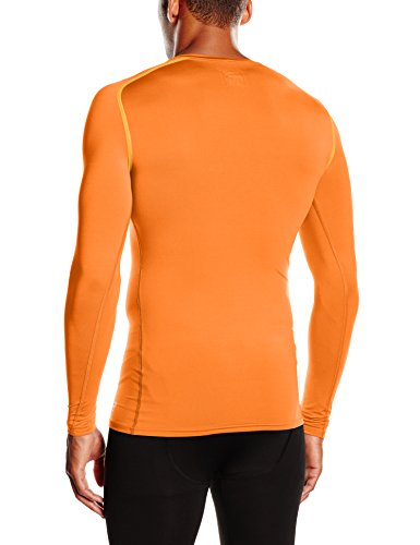 PUMA Herren T-shirt TB Long Sleeve Tee, team orange, L, 654612 08 - 2