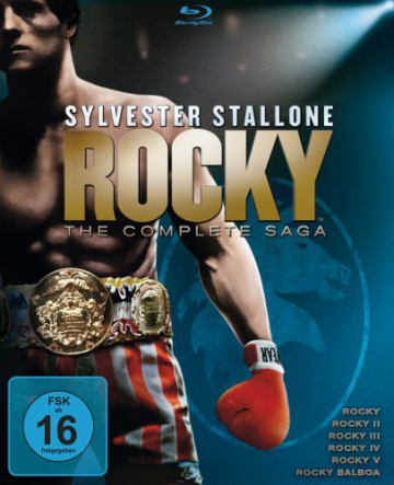 Rocky 1-6 - The Complete Saga [Blu-ray] - 3