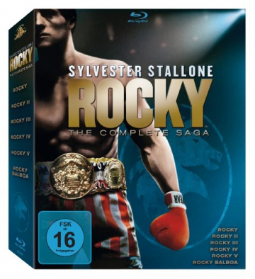 Rocky 1-6 - The Complete Saga [Blu-ray] - 1