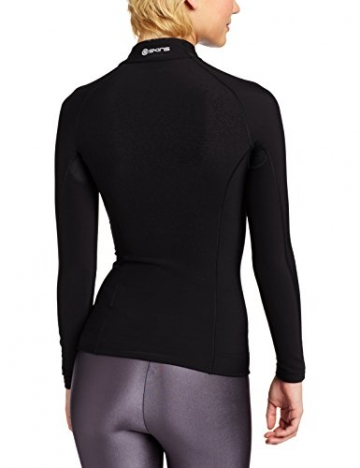 Skins Damen A200 Thermal Womens Long Sleeve Mck Neck W Zip -