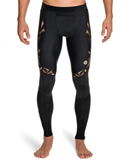 Skins Herren A400 Long Tights, Gold, L, ZB99320019156L - 1