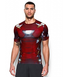 Under Armour Alter Ego Iron Man Herren Kompression T-Shirt (Large) - 1