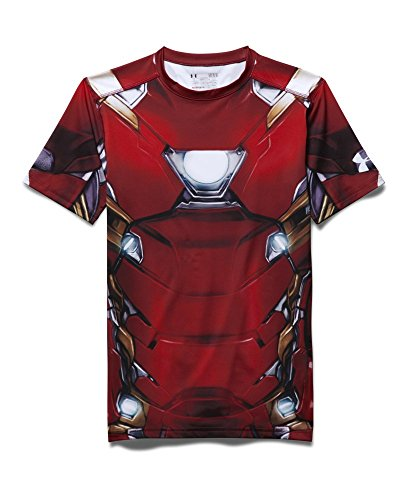 Under Armour Alter Ego Iron Man Herren Kompression T-Shirt (Large) - 4