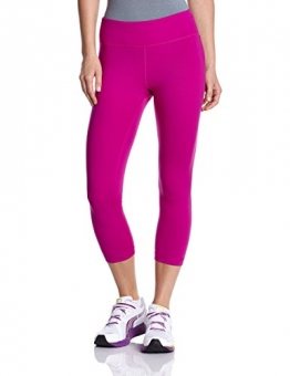 Under Armour Damen Hose UA Perfect Tights Capri, Magenta Shock, M -