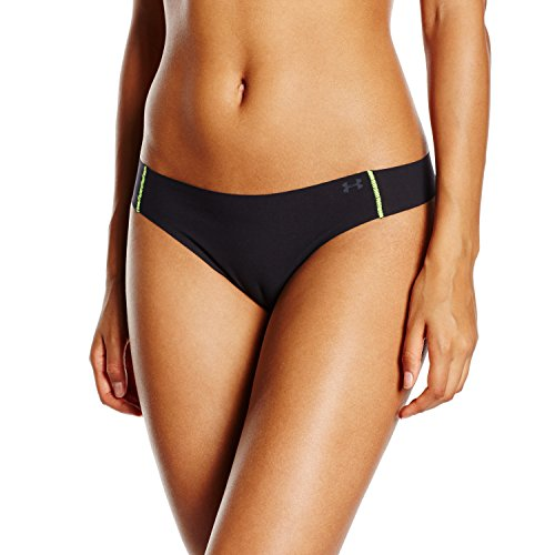 Under Armour Damen Tanga Pure Stretch, Black, One Size, 1237013 -