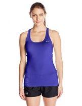 Under Armour Damen Tanktop HeatGear Racer, 1271765, Violett (Constellation Purple), Gr. SM -