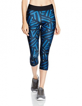 Under Armour Damen Ua Hg Printed Capri Fitness-Hosen & Shorts -