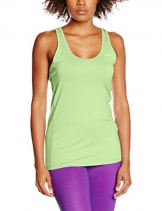 Under Armour Damen UA Stripe Racer Fitness-T-Shirts & Tanks, Lime Light, M -