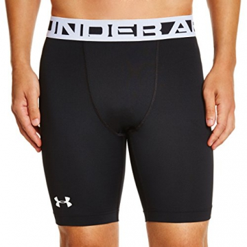 Under Armour Herren Hose EU CG Shorts, Black/White, L - 1