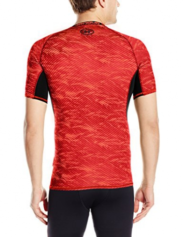 Under Armour Herren Kompressionsshirt HeatGear mit Aufdruck, Rocket Red, XL, 1257477 - 2