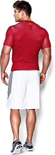 Under Armour Herren Kompressions-Shirt Transform Yourself, rot, L, 1244399 - 5