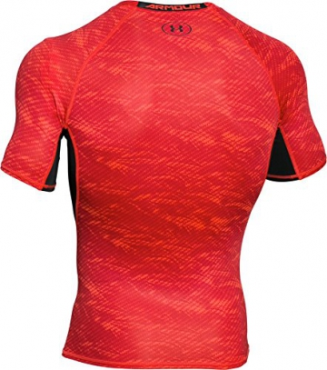 Under Armour Herren Kompressionsshirt HeatGear mit Aufdruck, Rocket Red, XL, 1257477 - 3