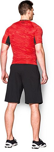 Under Armour Herren Kompressionsshirt HeatGear mit Aufdruck, Rocket Red, XL, 1257477 - 6