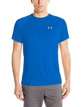 Under Armour Herren Speed Stride Short Sleeve Kurzarmshirt, Blue Marker, MD -