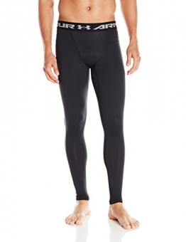 Under Armour Ua Cg Armour Leggings Herren Fitness - Hosen & Shorts, 1265649, Schwarz (Black/White), L -
