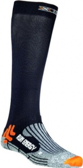 X-Socks Funktionssocken Run Energizer, Black, 39/41, X020327 - 1